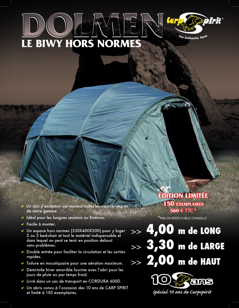 Biwy dolmen carp spirit édition limitée