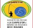 LA CARPE D'OR ASSEMBLEE ET DATES DES REMPOISSONNEMENTS