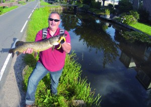 brochet hollandais pris au real eel