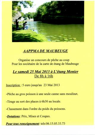 concours gros poissons Maubeuge
