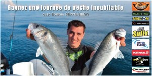 gagnez une journée de pêche avec Romain PAPPALARDO guide de pêche en mer