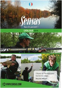catalogue sensas 2014 chez sambre peche