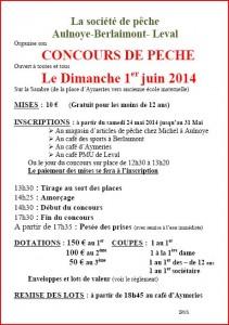 concours de pêche au coup Aulnoye-berlaimont leval