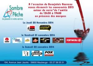 invitation beaujolais 2014 chez sambre peche