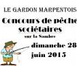 SPECIAL SOCIETAIRES AU GARDON MARPENTOIS