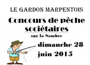 peche compétition sociétaire du gardon Marpentois peche au coup juin 2015
