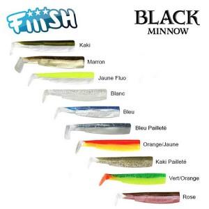 leurres black minnow fiiish
