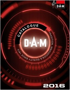 catalogue dam 2016
