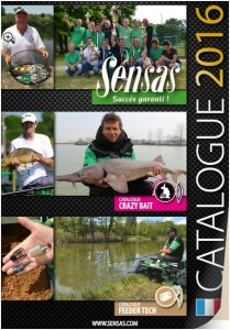 le catalogue sensas 2016