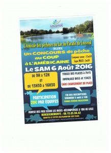 concours de pêche du lac du paradis 06 aout Louvroil