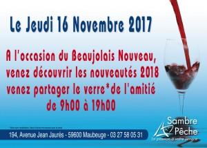 Invitation beaujolais 1017 et présentation des nouveautés Daiwa Dynamite baits rapala 2018