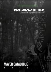 Le catalogue Maver pour L'année 2018