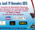Le beaujolais 2016